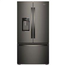 Whirlpool® 36-inch Wide Smart Counter Depth French Door-within-Door Refrigerator - 24 cu. ft. - Print Resist Blk Stnlss