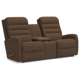 Forum Reclina-Way® Full Reclining Loveseat w/ Console