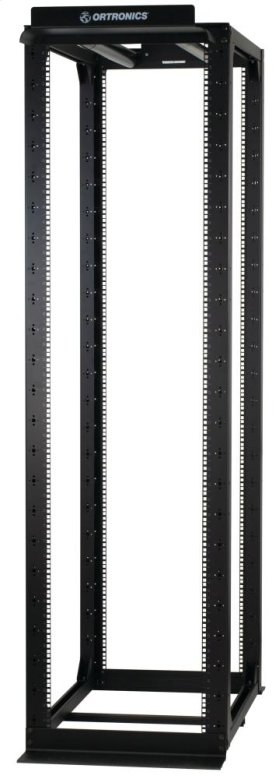 "MM20 4-Post Rack, 42""D adjustable, 8'H, 51 RU, punched 3/8"" square"