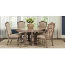 Ilana Traditional Round Formal Dining Table