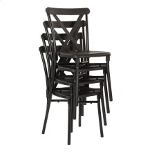 X-back Guest Stacking Chair 4-pack