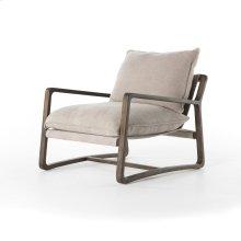 Cobblestone Jute/burnt Birch Cover Ace Chair
