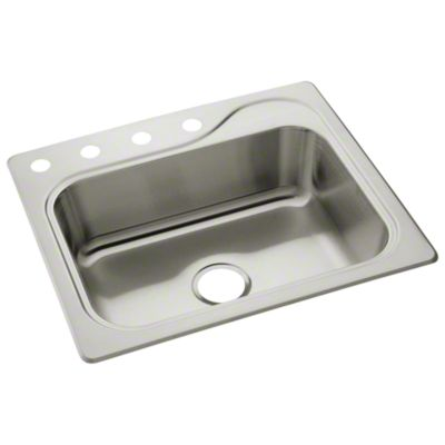 "Southhaven® Single-basin Kitchen Sink, 25"" x 22"""