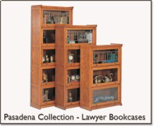 Pasadena Lawyer Bookcase