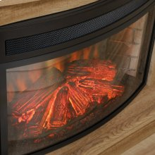 Curved Electric Fireplace Converter Kit