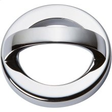 Tableau Round Base and Top 1 13/16 Inch - Polished Chrome