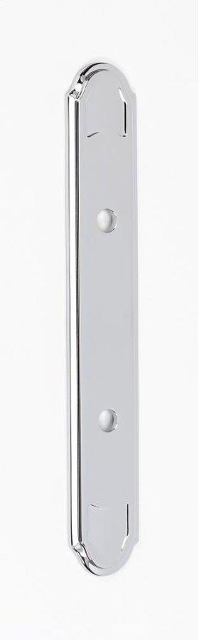 Classic Traditional Backplate A1568-3 - Polished Chrome