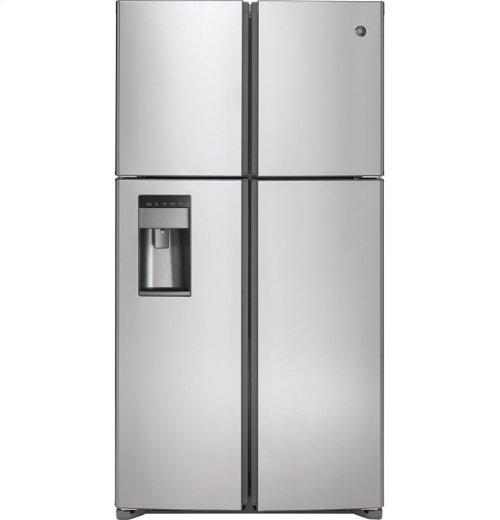 GE® 28.4 cu. ft. Quad-Door Refrigerator