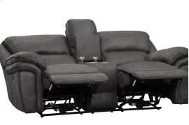 POWER Double Reclining Love Seat with Center Console