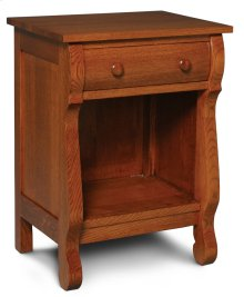 Empire Nightstand with Opening