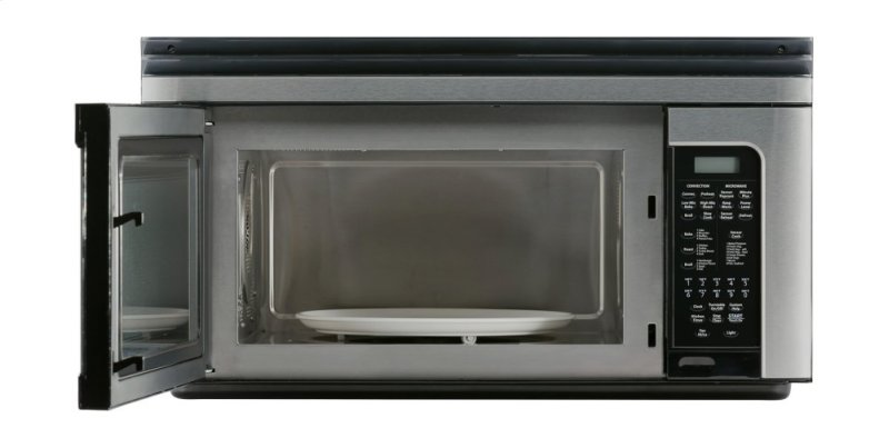 1000w Sharp Stainless Steel Carousel Countertop Microwave Oven R