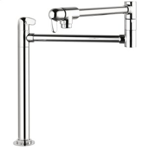 Chrome Allegro E Pot Filler, Deck-Mounted Product Image