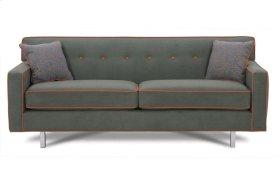 """Dorset 80"""" Chrome Sofa"""