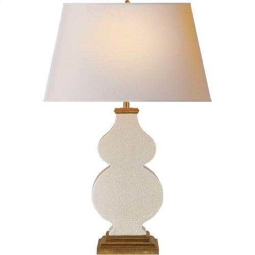 Visual Comfort AH3063TS-NP Alexa Hampton Anita 29 inch 150 watt Tea Stain Porcelain Decorative Table Lamp Portable Light