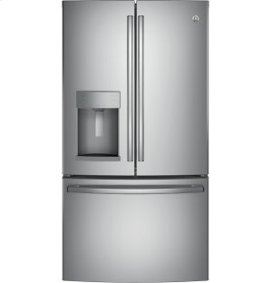 GE® ENERGY STAR® 22.2 Cu. Ft. Counter-Depth French-Door Refrigerator Product Image