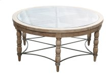 Cocktail Table, Available in Coastal Brown or Coastal Grey Finish.