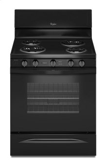 4.8 Cu. Ft. Freestanding Electric Range with High-Heat Self-Cleaning System
