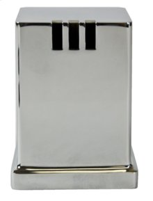 Square Universal Air Gap Cover (cover only) - Brushed Nickel