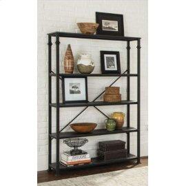 Industrial Dark Grey Bookcase
