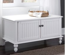 Blanket Chest Beach White