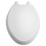 American StandardWhite Encompass Telespcoping Slow- Close Toilet Seat with Easy Lift Off