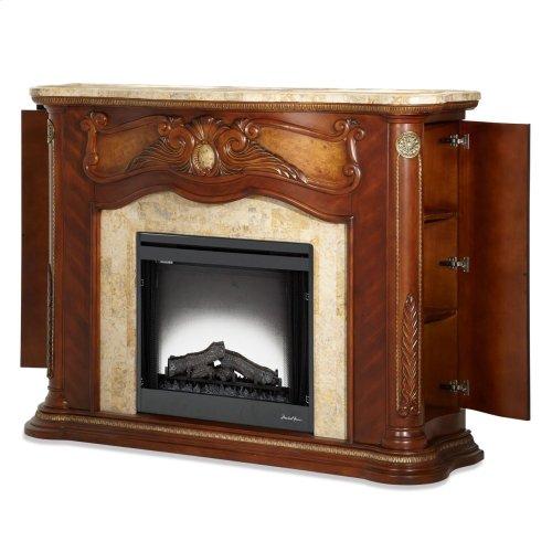 Fireplace W/electric Firebox Insert