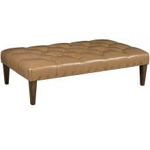 Alp Leather Ottoman