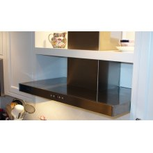 "24"" Stainless Stilo Wall Range Hood"