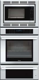 30 inch Masterpiece® Series Triple Oven (oven, convection microwave and warming drawer) MEDMCW31JS Product Image