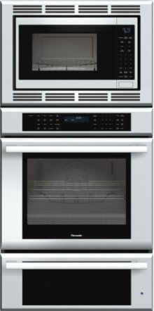 30 inch Masterpiece® Series Triple Oven (oven, convection microwave and warming drawer) MEDMCW31JS