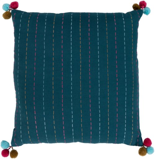"Dhaka DH-002 18"" x 18"" Pillow Shell with Polyester Insert"