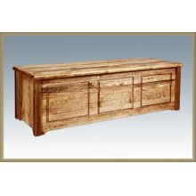 Homestead Blanket Chest - Stained and Lacquered