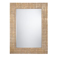 Champagne Gold/Silver Framed Mirror