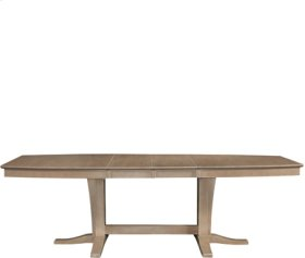 Milano Double Butterfly Ext. Table Weathered Gray