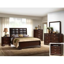 Jacob King Panel Pu Headboard