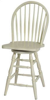 "Windswept Bowback 24"" Barstool (match WS005)"