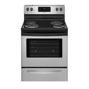 30'' Electric Range - SILVER MIST
