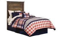 Twin Bed Group: Twin Bed, Nightstand, Dresser & Mirror