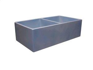 "Josie 33"" Double Bowl Farmer Sink - Sugar Paper Blue Product Image"
