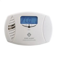 Dual-Power Carbon Monoxide Plug-In Alarm with Battery Backup and Digital Display