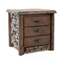 Westcliffe 3 Drawer Nightstand
