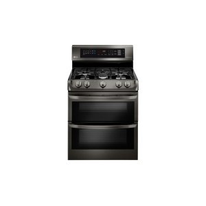 LG Appliances6.9 cu. ft. Gas Double Oven Range with ProBake Convection(R), EasyClean(R) and Gliding Rack