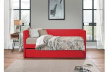 Daybed with Trundle, Red