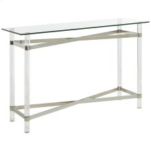Morelia Console Table in Chrome