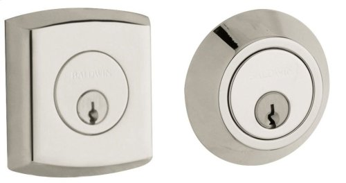 Polished Nickel with Lifetime Finish Soho Deadbolt