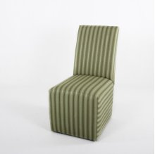 Castered side chair