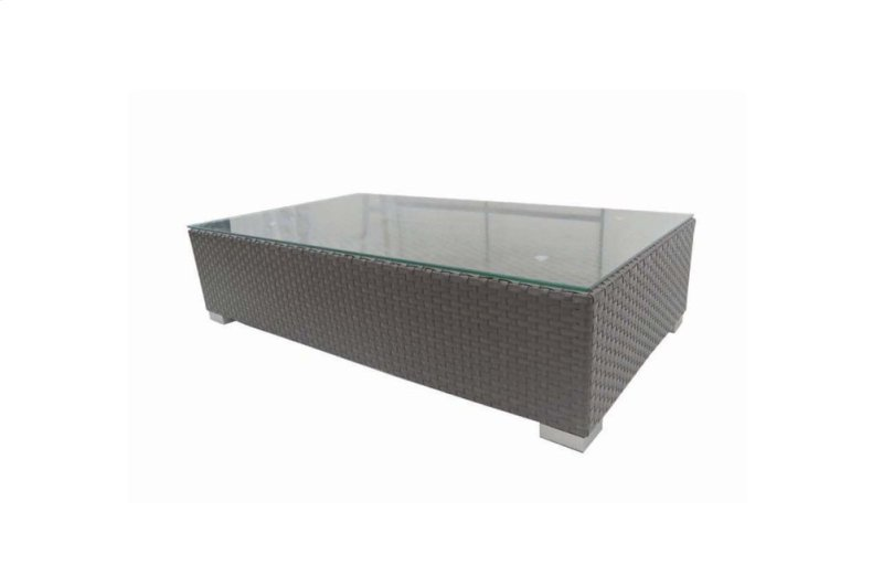 Brisbane Coffee Table W Clear Glass