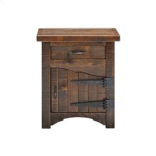 Woodland Park 1 Door 1 Drawer Nightstand - Hinged Right