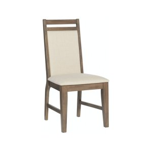 JOHN THOMAS FURNITUREUpholstered Side Chair in Pewter