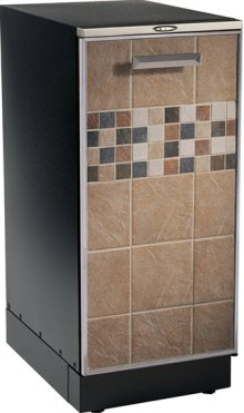 """15"""" Compactor, tile inlay door pan, storage compartment and manual advance odor control system. 120V."""
